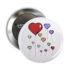 Balloon Hearts Button