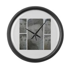 The Crew (IATS) Large Wall Clock