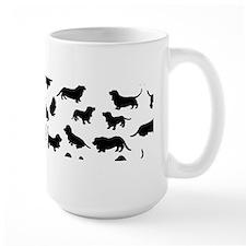 Basset Hounds Mug