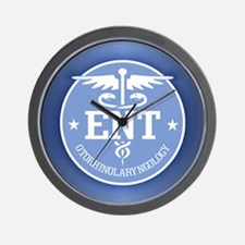 Cad ENT (rd) Wall Clock