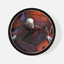 Dracula Nosferatu Vampire Wall Clock