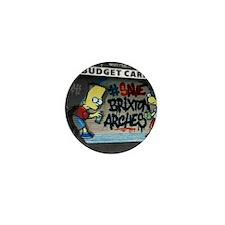 Funny Brixton Mini Button