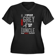 I Wear Grey For My Uncle (Brain Cancer Awareness)