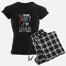 I Wear Grey For My Dad (Brain Cancer Awareness) Pa