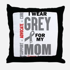 I Wear Grey For My Mom (Brain Cancer Awareness) Th