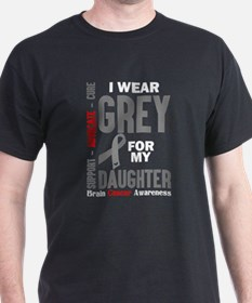 I Wear Grey For My Daughter (Brain Cancer Awarenes