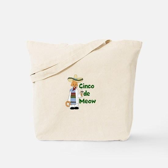 Cinco de Meow Tote Bag