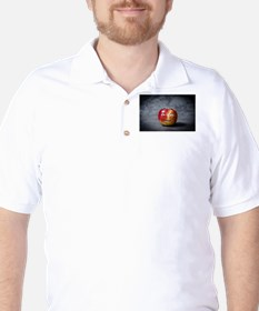 creepy apple face T-Shirt