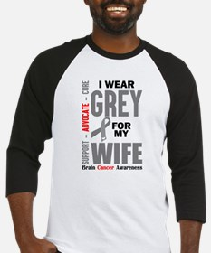 I Wear Grey For My Wife (Brain Cancer Awareness) B