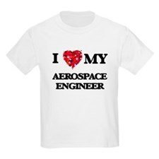 I love my Aerospace Engineer hearts design T-Shirt
