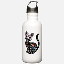 Dia de los Gatos Water Bottle