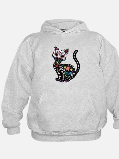 Dia de los Gatos Hoody