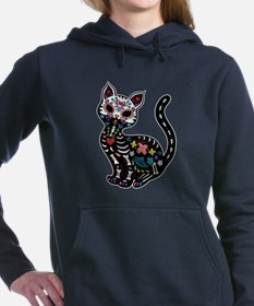Dia de los Gatos Women's Hooded Sweatshirt
