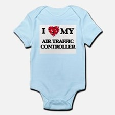 I love my Air Traffic Controller hearts Body Suit