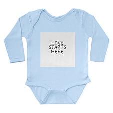 Cute I am Long Sleeve Infant Bodysuit