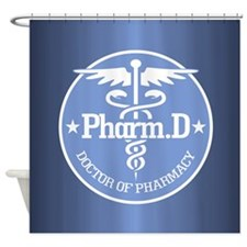 Cute Pharmacist Shower Curtain