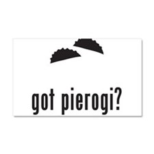 Pierogi Car Magnet 20 x 12