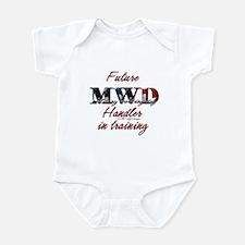 Future MWD handler Infant Bodysuit