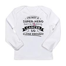 Breast Cancer Super-He Long Sleeve Infant T-Shirt