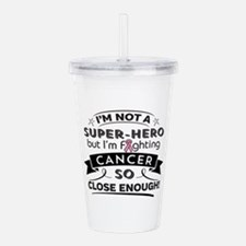 Breast Cancer Super-H Acrylic Double-wall Tumbler