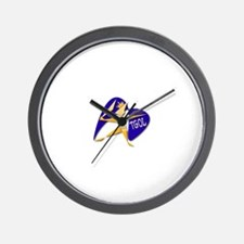 Cool Rpg character Wall Clock