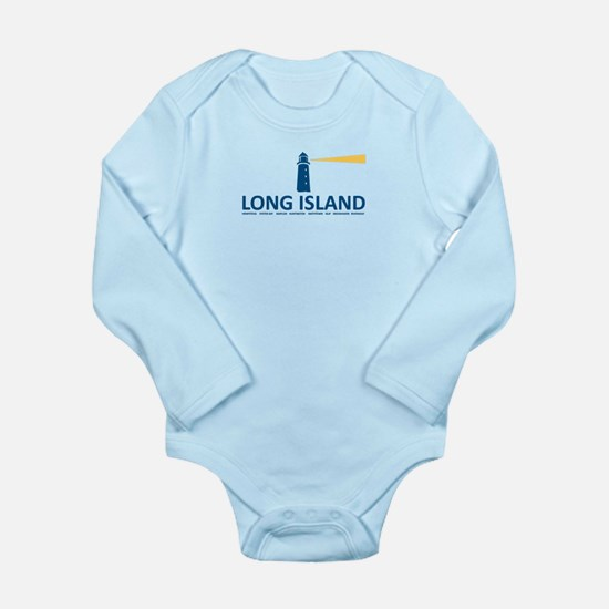 Long Island - New York Sleeve Infant Body Suit