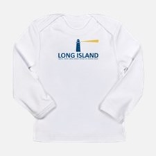 Island - New York. Infant Long Sleeve T-Shirt