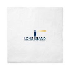 Long Island - New York. Queen Duvet