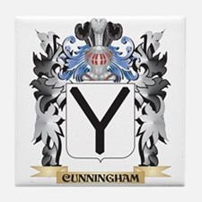 Cunningham Coat of Arms - Family Cres Tile Coaster