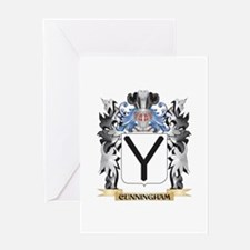 Cunningham Coat of Arms - Family Cr Greeting Cards