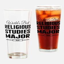 Worlds Best Religious Studies Major Drinking Glass
