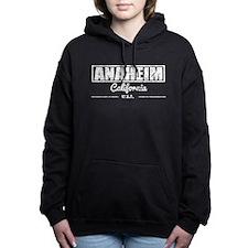 Anaheim California Women's Hooded Sweatshirt