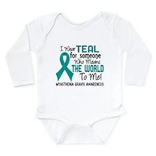 Myasthenia Gravis Mean Long Sleeve Infant Bodysuit