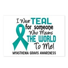 Myasthenia Gravis MeansWo Postcards (Package of 8)