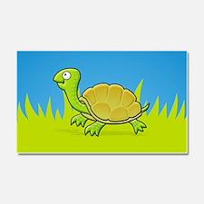 Cartoon Turtle Car Magnet 20 x 12