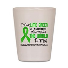 Muscular Dystrophy MeansWorldToMe2 Shot Glass