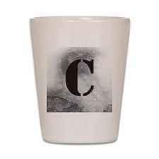 "The Crew's ""C"" (IATS) Shot Glass"