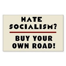 Hate Socialism? Buy Your Own R Decal