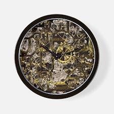 Metal Steampunk Wall Clock