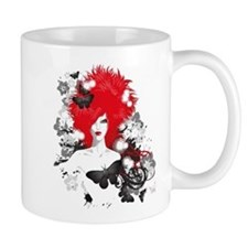 Red Hairs Mugs