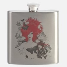 Red Hairs Flask