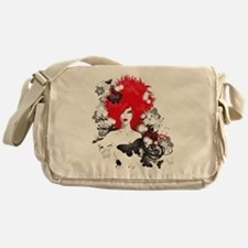 Red Hairs Messenger Bag