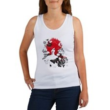 Red Hairs Tank Top