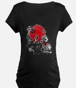Red Hairs Maternity T-Shirt