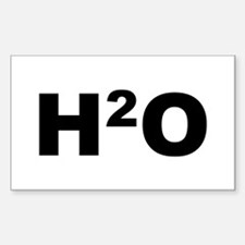 H2O Rectangle Decal