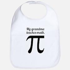 My Grandma Teaches Math Bib