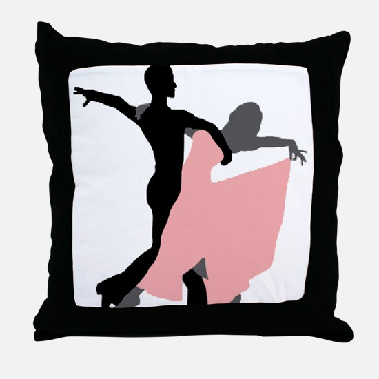 Dancing Throw Pillow