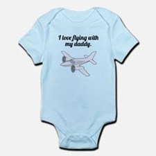 I Love Flying With My Daddy Body Suit