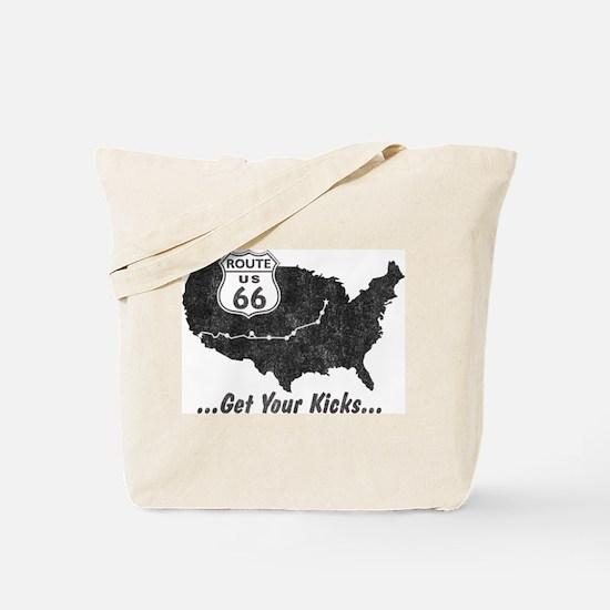 Retro Route66 Tote Bag