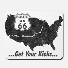 Retro Route66 Mousepad